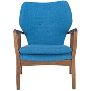 Corrigan Studio Alson Lounge Chair; Blue