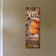 Red Barrel Studio 'Change Is Life' Graphic Art Print on Wood; 36'' H x 12'' W x 1.5'' D