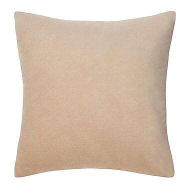 Bungalow Rose Carrillo Decorative Pillow; Tan