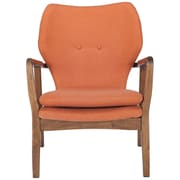 Corrigan Studio Alson Lounge Chair; Orange