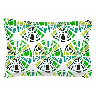 East Urban Home Patternmuse 'Precious Emerald' Illustration Sham; 20'' H x 40'' W x 0.25'' D