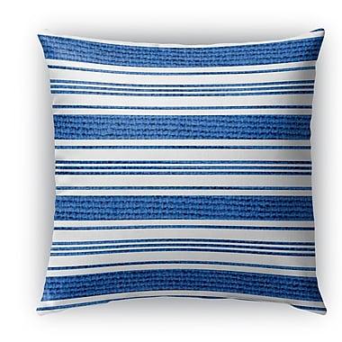 Longshore Tides Ellicott Burlap Indoor/Outdoor Throw Pillow; 18'' H x 18'' W x 5'' D
