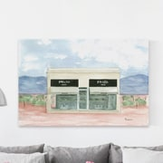 Rosdorf Park 'Marfa Boutique' Painting Print on Wrapped Canvas; 16'' H x 24'' W x 1.5'' D