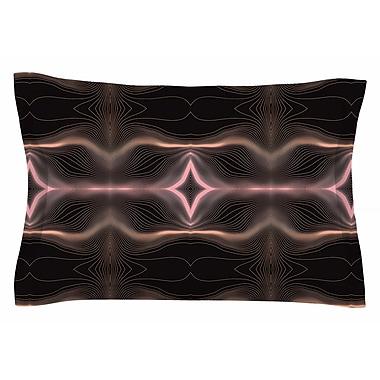 East Urban Home Pia Schneider 'Hazelnut Pale Line Vibes' Digital Sham; 20'' H x 30'' W x 1'' D