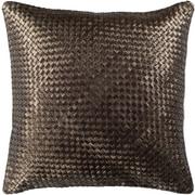 Everly Quinn Sherlene Pillow Cover; Dark Brown