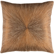 Ivy Bronx Wesley 100pct Cotton Pillow Cover; Khaki