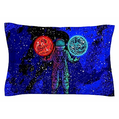 East Urban Home BarmalisiRTB 'King of Planets' Digital Sham; 20'' H x 40'' W x 0.25'' D