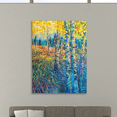 Ebern Designs 'Beyond Candyland' Painting Print on Wrapped Canvas; 20'' H x 16'' W x 1.5'' D