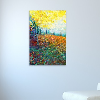 Ebern Designs 'Equilibrium' Painting Print on Wrapped Canvas; 42'' H x 28'' W x 1.5'' D