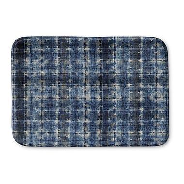 Ebern Designs Janis Memory Foam Bath Rug; 24'' H x 36'' W x 0.75'' D