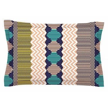 East Urban Home Akwaflorell 'Knitted 3' Sham; 20'' H x 30'' W x 1'' D