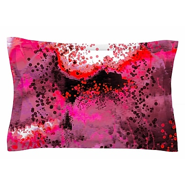 East Urban Home Nina May 'Pink Fizz' Digital Sham; 20'' H x 40'' W x 0.25'' D