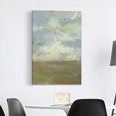 Red Barrel Studio 'Cloud Stack II' Oil Painting Print on Wrapped Canvas; 30'' H x 20'' W x 1.5'' D
