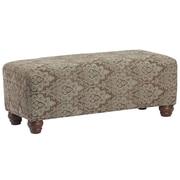 LefflerHome Richmond Upholstered Bedroom Bench; Brandenton Dusk