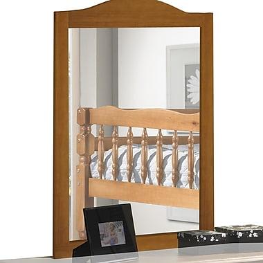 PalaceImports Rectangular Dresser Mirror; Honey Pine