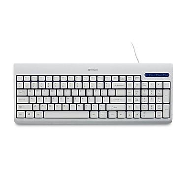 Verbatim – Clavier filaire USB blanc 99377