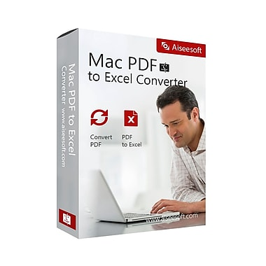 Aiseesoft Mac PDF to Excel Converter [Download]