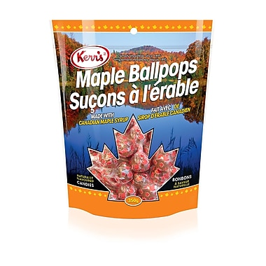 Kerr's Maple Ballpops Candy, 350g