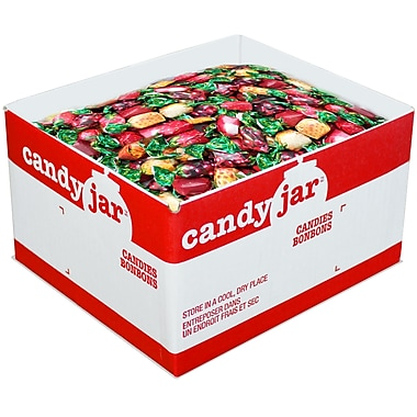 Candy Jar Deluxe Filled Fruits Candies, 5kg Box
