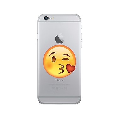 OTM Essentials iPhone 7/6/6s Hybrid Clear Phone Case, Kissy Face
