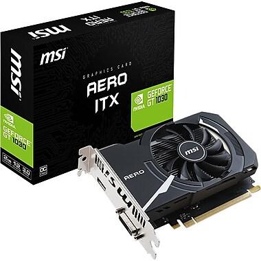 MSI GT 1030 AE ITX 2G OC GeForce GT 1030 Graphic Card, 2 GB GDDR5