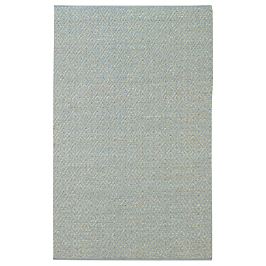 Highland Dunes Blocher Blue Area Rug; 2' x 3'