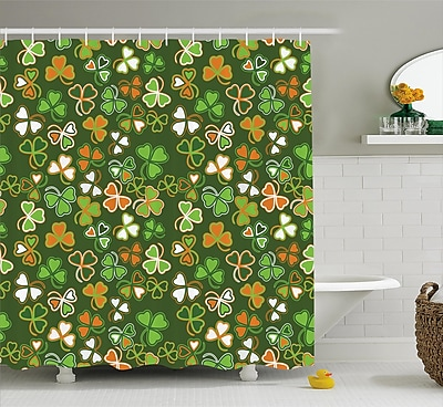 St. Patrick'S Day Lucky Shamrocks Pattern Irish