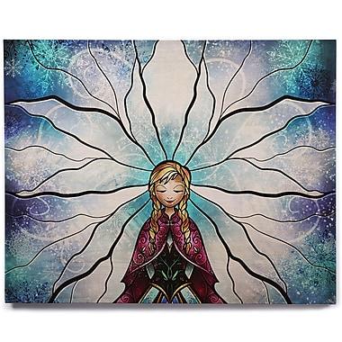 KESS InHouse 'The Little Sister' Graphic Art Print on Wood; 20'' H x 24'' W x 1'' D