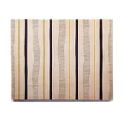East Urban Home 'Textured Stripes' Graphic Art Print on Wood; 11'' H x 14'' W x 1'' D