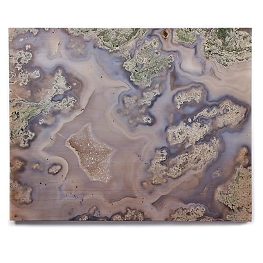 East Urban Home 'Pastel Geode' Graphic Art Print on Wood; 16'' H x 20'' W x 1'' D