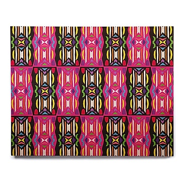 East Urban Home 'Lets Party' Graphic Art Print on Wood; 8'' H x 10'' W x 1'' D