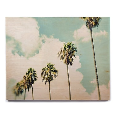East Urban Home 'Paradise And Heaven' Photographic Print on Wood; 20'' H x 24'' W x 1'' D