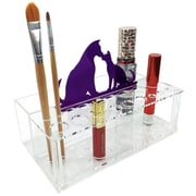 Ikee Design Makeup Brush Cosmetic Organizer; Purple