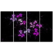 DesignArt 'Placer Stars in Distant Galaxy' Graphic Art Print Multi-Piece Image on Canvas