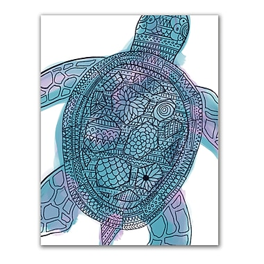 Jetty Home 'Sea Turtle' Drawing Print