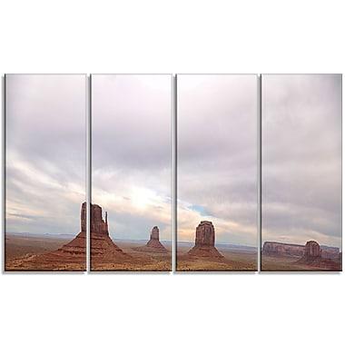 DesignArt 'Monument Valley Panorama' Photographic Print Multi-Piece Image on Canvas