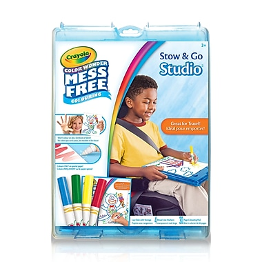 Crayola Colour Wonder Stow & Go