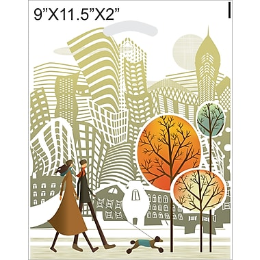 Marlo Packaging 9 x 11.5 x 2 Design Saks, Printed Park Avenue, 500/Pack