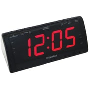 "Sylvania 1.8"" Jumbo Digit Alarm Clock with AM/FM Radio (SCR1206)"