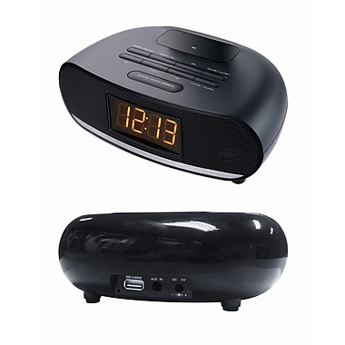 Sylvania Bluetooth Alarm Clock w/USB Charging (SCR1997)