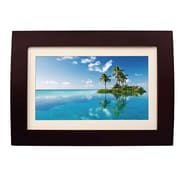 "Sylvania 10"" Wood Digital Photo Frame with Remote (SDPF1089)"