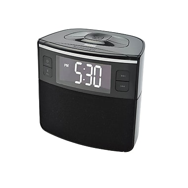 Sylvania Bluetooth Dual Alarm Clock w/ USB Charging (SCR1986BT)