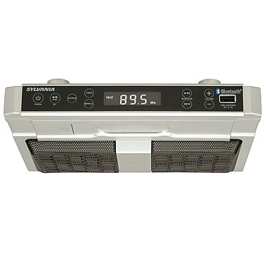 Sylvania Under Counter Bluetooth FM Radio (SKCR2810BT)