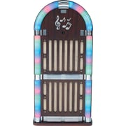 Sylvania Wooden Bluetooth Jukebox with Multi-Colour Lights (SRCD806)