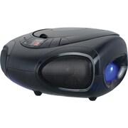 Sylvania – Minichaîne portative Bluetooth radio et CD à DEL (SRCD1368BT)