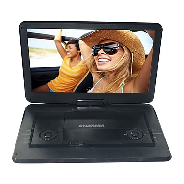 Sylvania – Lecteur DVD portable de 15,6 po avec écran pivotant (SDVD1566)