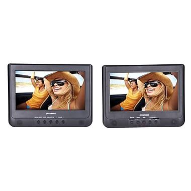 Sylvania - Lecteur de DVD portable de 10,1 po, deux écrans (SDVD1010)