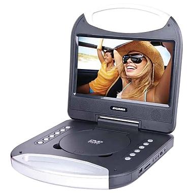 Sylvania – Lecteur DVD portable de 10 po avec poignée intégrée (SDVD1052-BLACK)