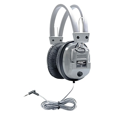 Hamilton Buhl Sc-7v Schoolmate Deluxe Stereo Headphone, Gray