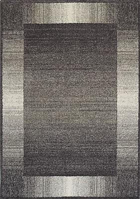 Brayden Studio Aubuchon Grey Almandy Area Rug; 5'3'' x 7'7''